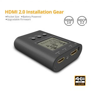 Prophecy HDMI 2.0 Installation Gear - Analyzer and Signal Generator (PRO-HDMI2Gear)