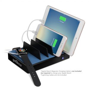 EdgeS 5-Port USB Charging Station – Black (EdgeS5P)