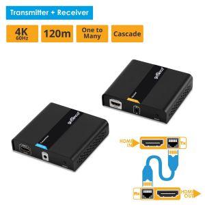 HDMI HDbitT CAT5e/6 Extender 4K-120m (HDbitT4K)