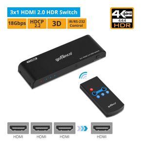 3x1 HDMI 2.0 HDR Switch (HDRswitch3P)