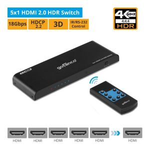 5x1 HDMI 2.0 HDR Switch with Remote (HDRswitch5P)