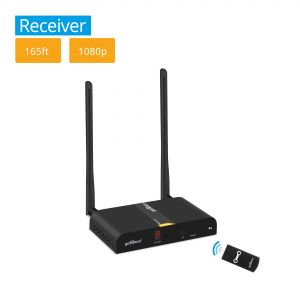 Multi-Channel Wireless HDMI Extender Receiver - 165ft (50m) (HDwireless-RX)