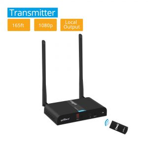 Multi-Channel Wireless HDMI Extender Transmitter - 165ft (50m) (HDwireless-TX)