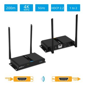 Wireless HDMI Extender Kit 4K – 200m (HDwireless4K)