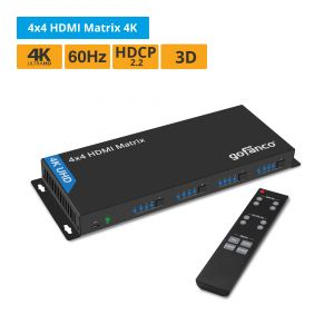 4x4 HDMI Matrix Switch 4K (Matrix44)