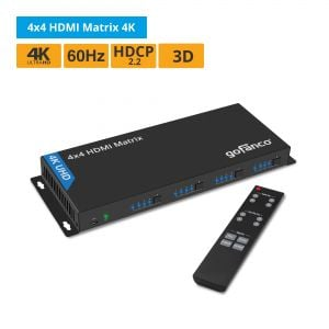 4x4 HDMI Matrix 4K (Matrix44)