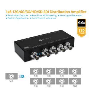 Prophecy 12G-SDI 1x8 Distribution Amplifier (Splitter) (PRO-12GSDI8P)