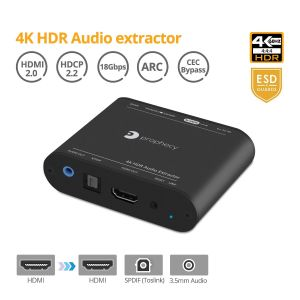Prophecy 4K HDR Audio Extractor (PRO-AudioExt)