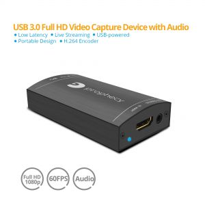Prophecy HDMI USB 3.0 Capture Device with Audio (PRO-CaptureHDaud)