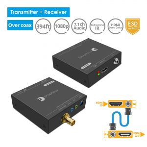 HDMI Extender over Coaxial cable Bi-directional IR (PRO-CoaxExt)