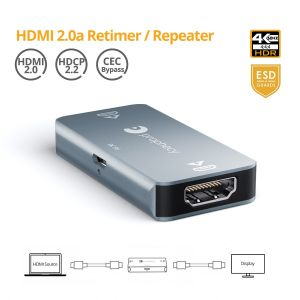 Prophecy HDMI 2.0 Signal Repeater & Booster (PRO-HDrepeat)