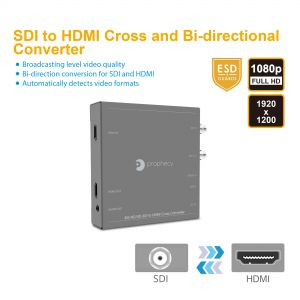 Prophecy 3G/HD/SD-SDI to HDMI Cross Converter (PRO-HDSDIconv)