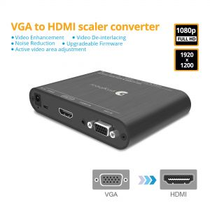 Prophecy VGA to HDMI Scaler Converter (PRO-ScalerV2HD)