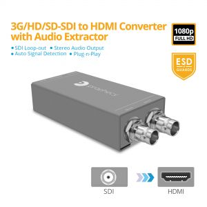 Prophecy SDI to HDMI Converter with Audio Extractor (PRO-SDIHDaud)