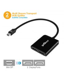 Mini DisplayPort MST Hub to 2x DisplayPort (mDPMST2DP)