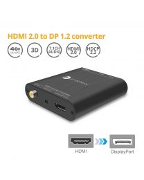 Prophecy HDMI 2.0 to DisplayPort 1.2 Converter gofanco