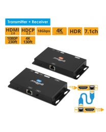HDBaseT HDMI 2.0 Extender with Loopout (HDBaseT-HD20)