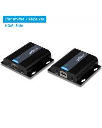 HDMI HDBitT CAT5e/6 Extender with IR – 395ft (120m) (HDbitTExt)