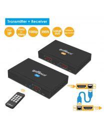 HDMI Extender Kit Over IP Matrix - Transmitter and Receiver gofanco