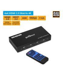 4x4 HDMI 2.0 Matrix 4K (Matrix44-HD20)
