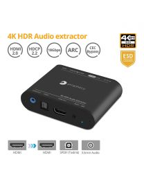 HDMI 2.0 Audio Extractor - 4K HDR 60Hz HDCP 2.2 ARC gofanco