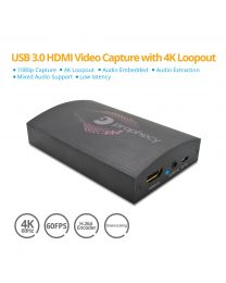 USB 3.0 Ultra HD 4K Video Capture Device with Audio Prophecy gofanco