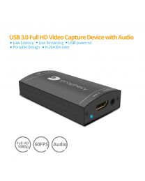 HDMI USB 3.0 Capture Device with Audio (PRO-CaptureHDaud)