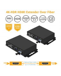 HDMI Extender Kit Over Fiber - Transmitter and Receiver gofanco