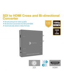 SDI to HDMI Cross and Bi-Directional Converter gofanco