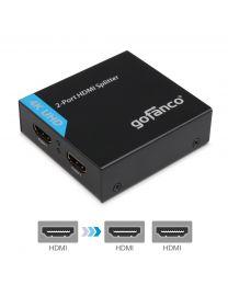 2-Port HDMI Splitter 4K – Black (Splitter2P)