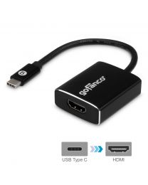 Type-C to HDMI Video Adapter-Black (USBCHDMI)