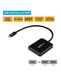 USB-C MST Hub to 2x HDMI (USBCMST2HDMI)