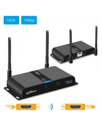 Dual Antenna Wireless HDMI Extender KIT Transmitter and Receiver gofanco