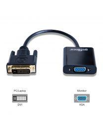 Male DVI-D to Female VGA Active Adapter Converter gofanco