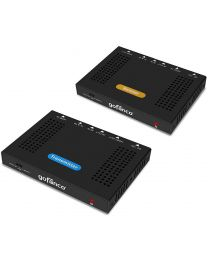 HDBaseT Transmitter and Receiver HDMI Extender Kit 4k HDR gofanco
