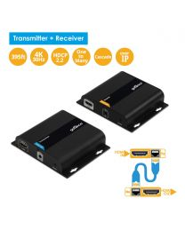 4K HDMI over IP network extender Kit (Receiver & Transmitter) HDbitT