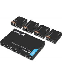 1x transmitter and 4x receiver hdmi extender splitter gofanco prophecy