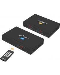 HDMI Extender Kit Over IP Matrix - Transmitter and Receiver gofanco