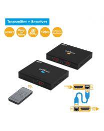 HDMI IP Extender Kit 4K – 120m (HDExtIP4K)