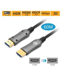 HDMI 2.0 Fier Optical Cable 60m
