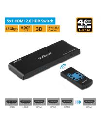 5x1 HDMI 2.0 HDR Switch gofanco