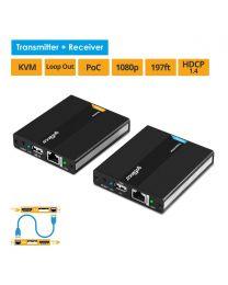 HDMI USB KVM CAT5e/6 Extender (KVMHDExt)