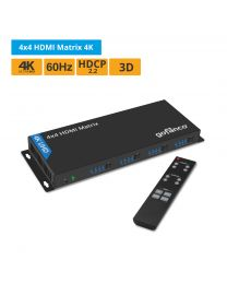 4x4 HDMI Matrix Switcher 4K gofanco