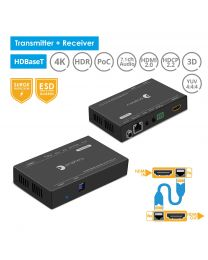 (OPEN BOX) Prophecy HDBaseT HDMI 2.0 Extender 328ft (100m) (PRO-HDbaseT-100)