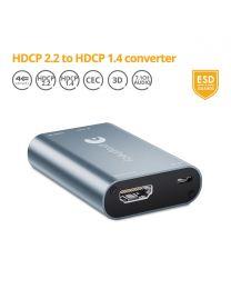 HDCP 2.2 to HDCP 1.4 Converter/Downgrader gofanco