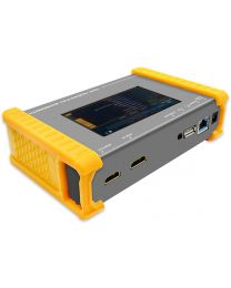 "HDMI 2.0 Pattern Generator and Analyzer - 18 Gbps, 4.3"" Touch Panel, Portable, Rechargeable Battery, Upgradable Firmware"