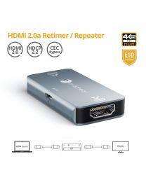 HDMI 2.0a Retimer/Repeater/Booster gofanco
