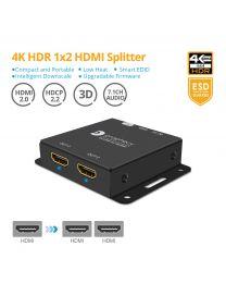 4K HDR 1x2 HDMI Splitter Pro gofanco