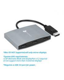 1x3 DisplayPort MST Hub (PRO-MSTDP3DP)
