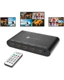 4x1 HDMI Quad-Viewer and Seamless Switcher (PRO-QuadView)